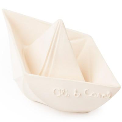 Oliamp; Bain Le Pour Carol Origami Jouet Bateau Blanc lcT1Ju3KF