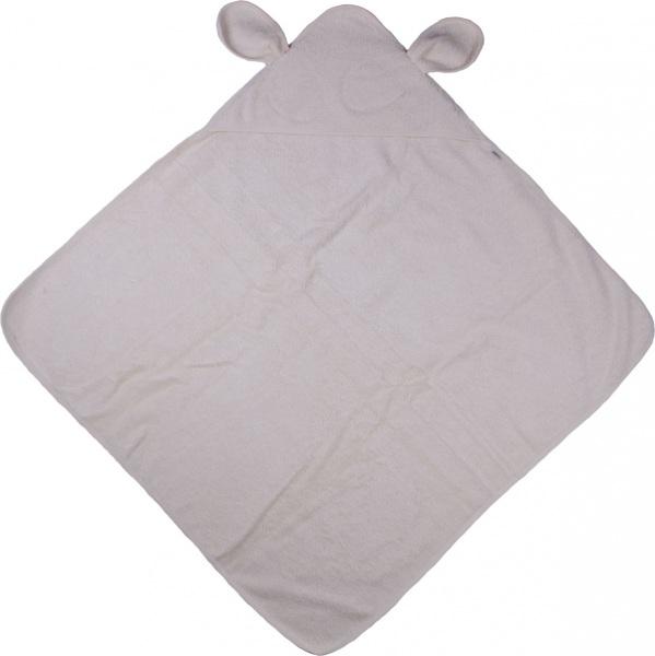 drap de bain avec capuche cru gots iobio drap bain ecru. Black Bedroom Furniture Sets. Home Design Ideas